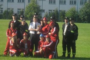 zawody strażackie w Morawsku